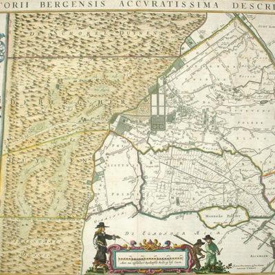 kaart van blaeu 1662