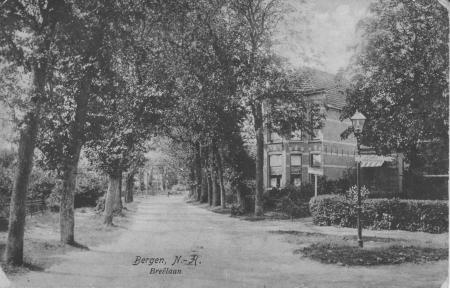 HVB FO 00022 Breelaan (hoek Russenweg, ca 1910)