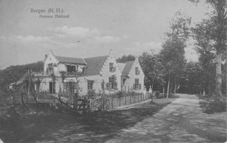 HVB FO 00028 Pension Holland, Studler van Surcklaan (ca 1910)