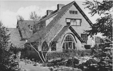HVB FO 00032 Volkshogeschool De Zandhoeve (verzonden in 1953)