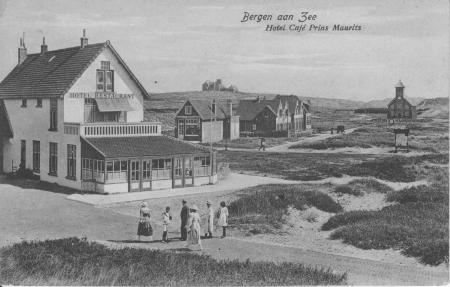 HVB FO 00040 BaZ, bij kruisje Het Zonnehuis, verzonden 1920