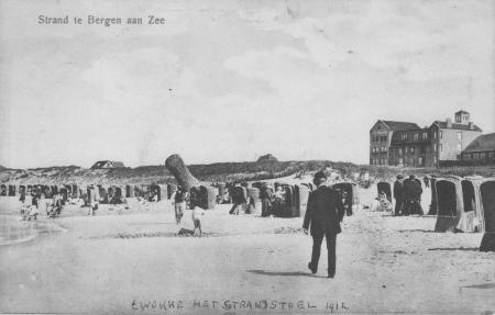 HVB FO 00050 BaZ, strand, hotel Nassau-Bergen, 1912