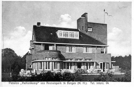 HVB FO 00196  Pension Hertenkamp, Van Reenenpark 14
