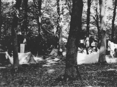 HVB FO 00226  Canadese tenten bij Oude Hof