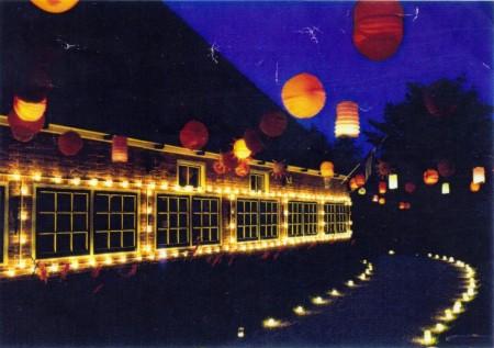 HVB FO 00492  Pension Travaille op lichtjesavond