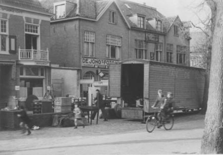 HVB FO 00529  Evacuatie van familie De Lang, Breelaan 11,  1943