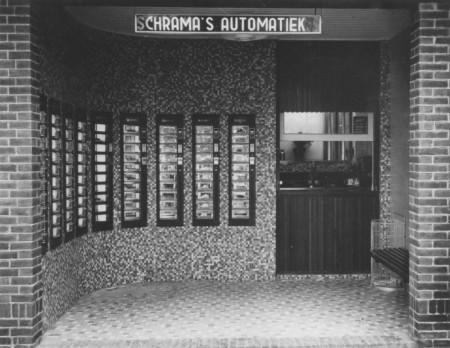 HVB FO 00536  Schrama's Automatiek, Oude Prinsweg
