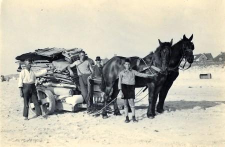 HVB FO 00546  Opruimen van het Stille Strand, 1934