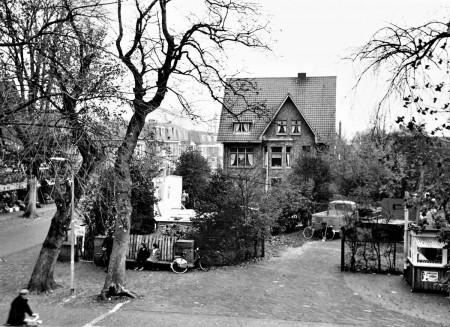 HVB FO 00567  Het vroegere huis van dokter Blok aan de Jan Oldenburglaan, 1960