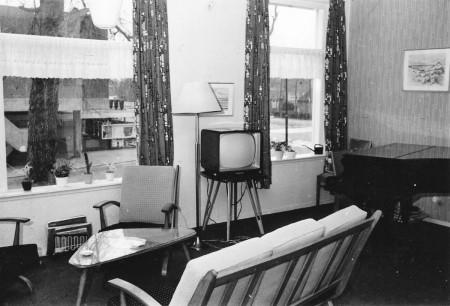 HVB FO 00573  Interieur Breelaan 13 (boven), februari 1962