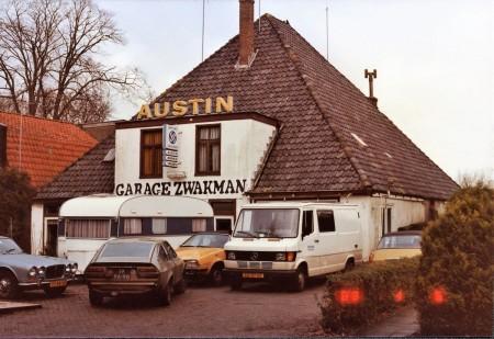 HVB FO 00577  Garage Zwakman aan Breelaan 50 (1983)