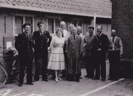 HVB FO 00585  Personeel Post 1963