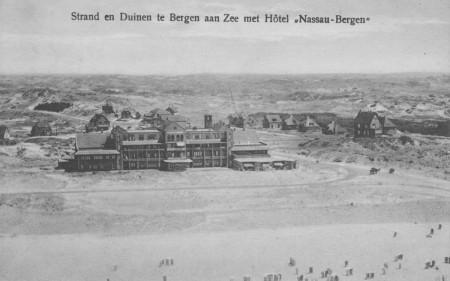 HVB FO 00617 Hotel Nassau-Bergen, luchtfoto