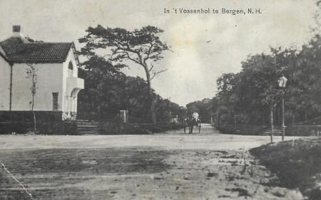 HVB FO 00638  Komlaan hoek Kerkelaan, 1917