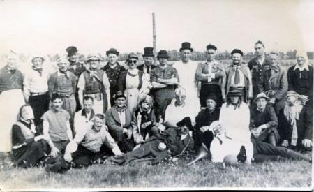 HVB FO 00652  Bevrijdingsfeest Zanegeest, 31 augustus 1945