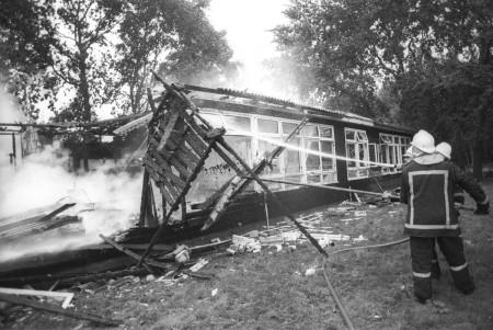 HVB FO 00696  Brand bij de Ursulinen
