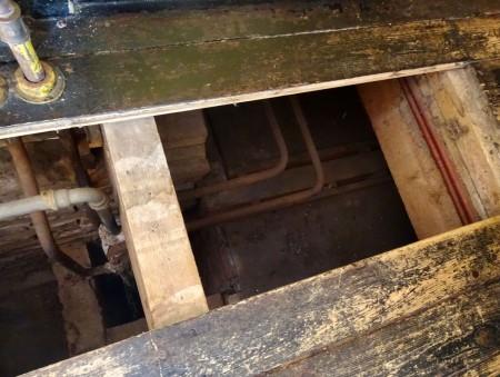 HVB FO 00699  Ingang van onderduikplek aan Guurtjeslaan