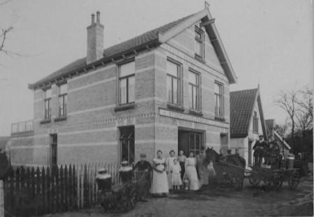 HVB FO 00713 Stoomzuivelfabriek Juliana aan de Kleine Dorpsstraat