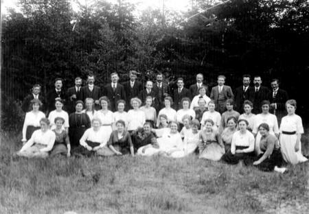 HVB FO 00715  Berger Koorvereniging, 1921