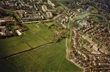 HVB FO 00729  Zakedijkje, Natteweg (luchtfoto)
