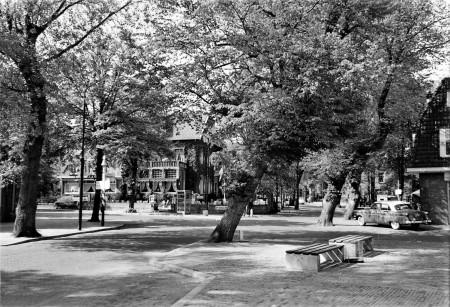 HVB FO 00743  Breelaan hoek Stationsstraat, 1960