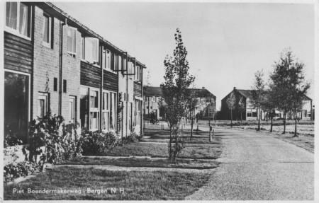HVB FO 00179  Piet Boendermakerweg, poststempel 1956
