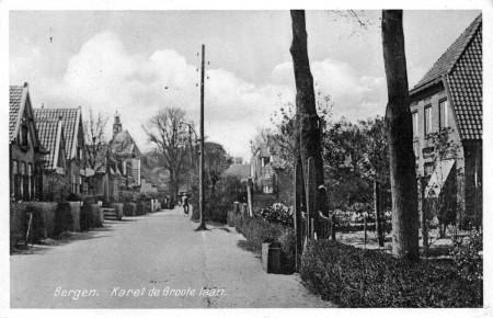 HVB FO 00184  Karel de Grotelaan, poststempel 1940