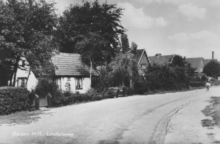 HVB FO 00186 Loudelsweg, omstreeks 1950