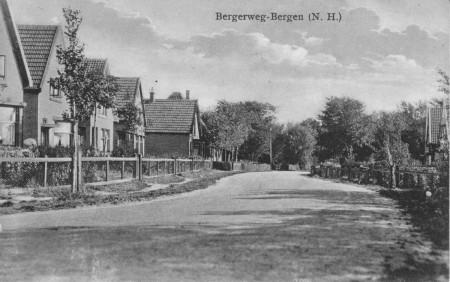 HVB FO 00191  Oude Bergerweg, omstreeks 1930