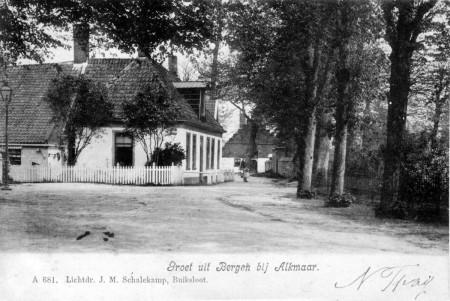 HVB FO 00193 Oude Prinsweg hoek Hoflaan, omstreeks 1900